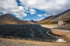 Landschaft des stillen Tales, unten Grafschaft, Nordirland lizenzfreie stockfotos