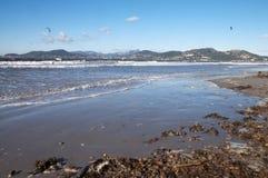Halbinsel von Gien in französischem Riviera, Frankreich Lizenzfreie Stockfotos