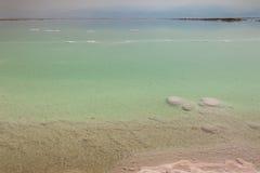 Landschaft des Toten Meers stockfoto