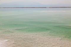 Landschaft des Toten Meers stockbild