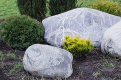 Landschaft des weißen Steins Stockfoto