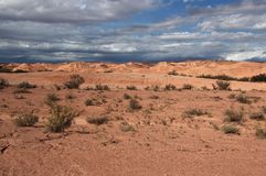 Landschaft eines Planeten Lizenzfreies Stockbild