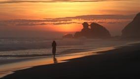 Landschaft eines Sonnenuntergangs lizenzfreies stockfoto
