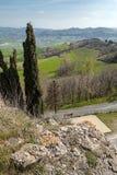 Landschaft in Emilia-Romagna (Italien) stockfoto