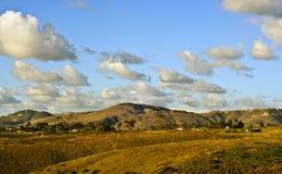 Landschaft Ende des Nachmittages Stockfotografie