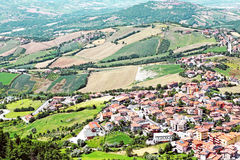 Landschaft in Europa Lizenzfreies Stockbild