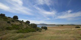 Landschaft in Extremadura, Spanien Lizenzfreie Stockfotos