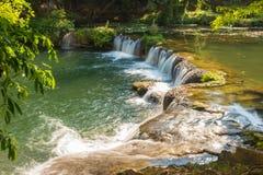 Landschaft für Wasserfall Stockbild