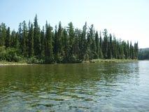 Landschaft, Fluss Lizenzfreie Stockfotografie