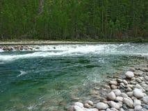 Landschaft, Fluss Stockbild
