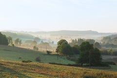 Landschaft in Frankreich Lizenzfreies Stockfoto