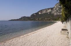 Landschaft in Garda Stockfotografie