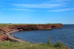 Landschaft in Gaspesie, Quebec Lizenzfreie Stockbilder