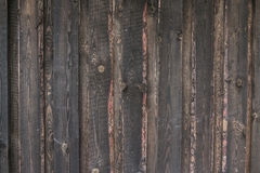 Landschaft gealterte alte Bauernhofscheunen-Wandnahaufnahme Stockbilder