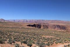 Landschaft in Glen Canyon Lizenzfreies Stockbild