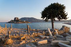 Landschaft in Griechenland Stockbild