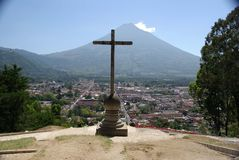 Landschaft in Guatemala Stockbilder