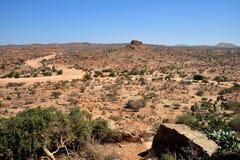 Landschaft im Bereich von Las Gil Stockbild