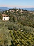 Landschaft im Chianti Italien Stockbilder