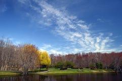 Landschaft im Frühjahr Lizenzfreie Stockbilder