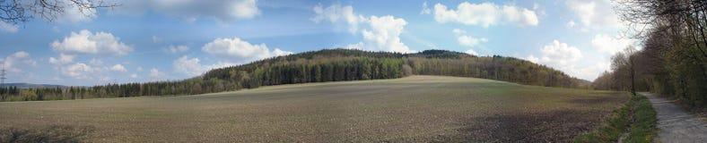 Landschaft im Frühjahr Stockfotografie