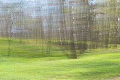 Landschaft im hellen Unschärfehintergrund Stockfoto