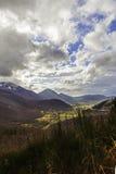Landschaft im Herbst Lizenzfreies Stockfoto