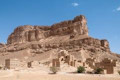Landschaft im Jemen Stockbild
