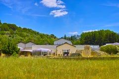 Landschaft im MARKTPLATZ ARMERINA, SIZILIEN, am 26. Mai 2017: Landhaus Romana lizenzfreies stockbild