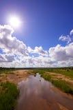Landschaft im Naturreservat lizenzfreies stockfoto