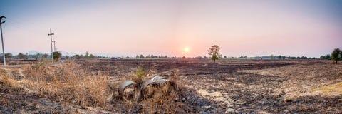 Landschaft im Norden von Thailand Lizenzfreie Stockfotos