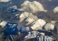 Landschaft im Tibet lizenzfreies stockfoto