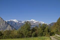Landschaft im Trentino Immagine Stock Libera da Diritti