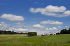 Landschaft im untereren Bayern Lizenzfreie Stockbilder