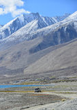 Landschaft in Indien stockbilder