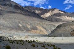 Landschaft in Indien stockbild
