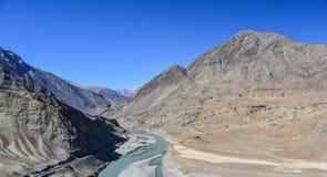 Landschaft in Indien stockfotos