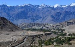 Landschaft in Indien stockfotografie