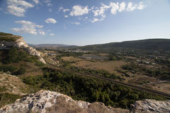 Landschaft Inkerman Lizenzfreie Stockfotografie
