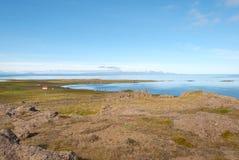Landschaft in Island lizenzfreie stockbilder