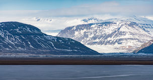 Landschaft in Island Lizenzfreies Stockbild