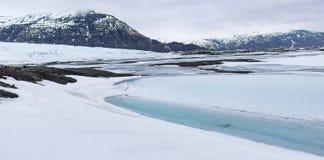 Landschaft in Island Lizenzfreies Stockfoto