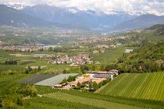 Landschaft in Italien stockbilder