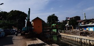 Landschaft Jakarta stockfotografie