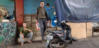 Landschaft Jakarta lizenzfreies stockbild