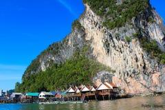 Landschaft Koh Panyee Lizenzfreie Stockfotos