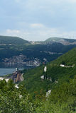 Landschaft in Kroatien Stockbild