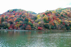 Landschaft Kyotos Japan Arashiyama stockfoto