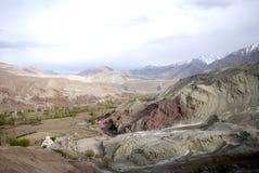 Landschaft in Ladakh, Indien lizenzfreie stockfotos