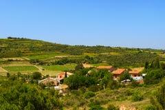 Landschaft Languedoc Lizenzfreies Stockbild
